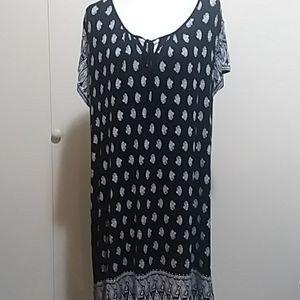 LUCKY BRAND 1X DRESS